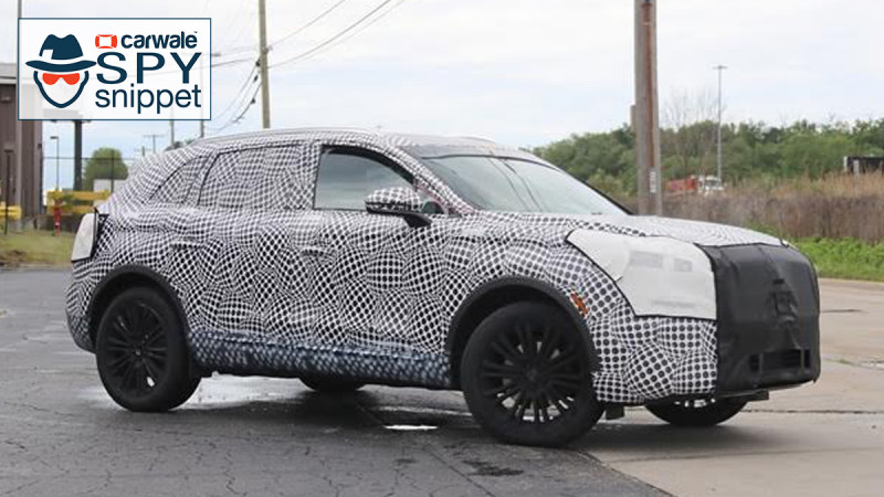 The updated Lincoln MKX spied for the first time