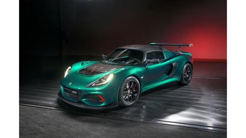 Lotus unveils production-spec Exige Cup 430 - Unlimited Edition