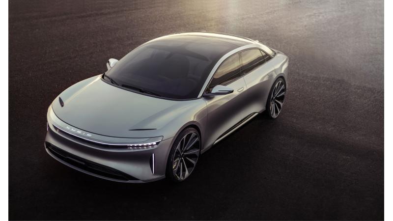 Lucid Motor   s all-electric Air sedan reaches top speed of 378kmph
