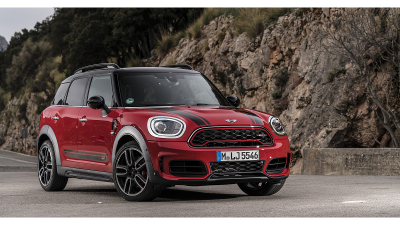 Mini revealed the new Countryman John Cooper Works
