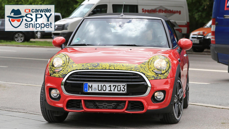 Facelifted Mini Cooper Convertible spotted doing the rounds