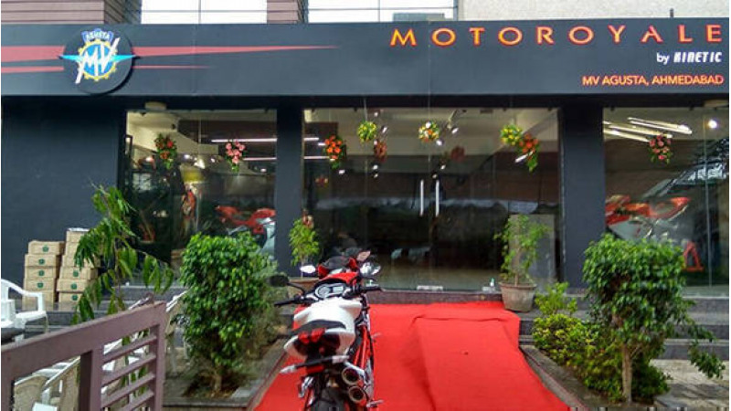 MV Agusta rides into Ahmedabad