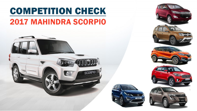 Competition Check: New Mahindra Scorpio