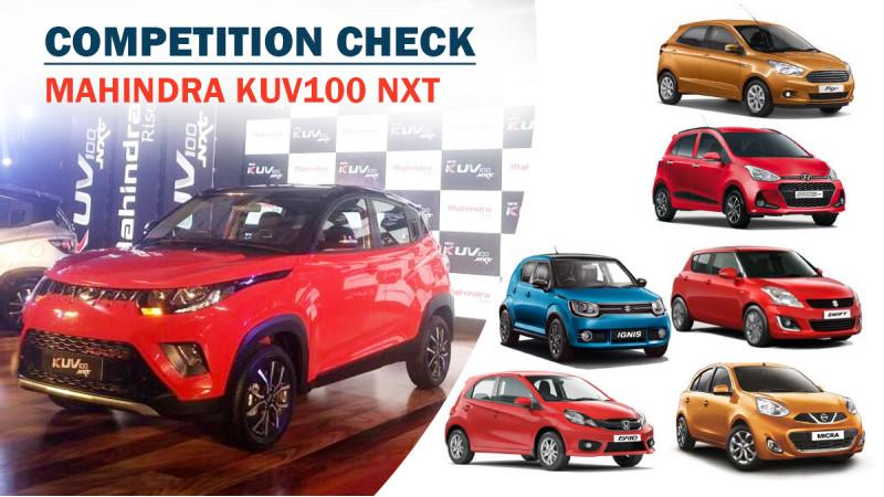 Competition Check: Mahindra KUV100 NXT