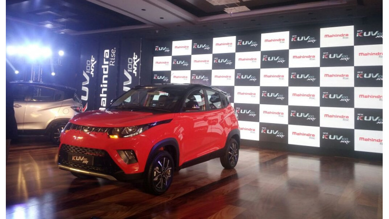 Mahindra launches KUV100 NXT in India at Rs 4.39 lakhs