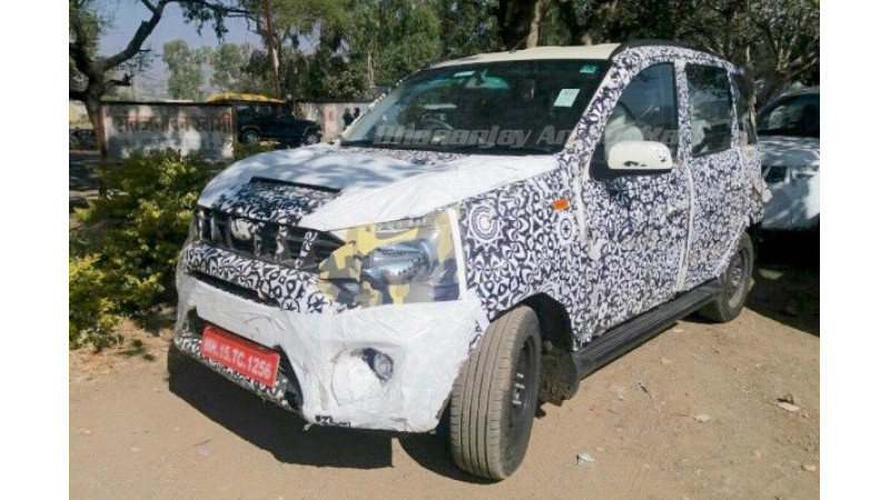 Mahindra Quanto Company's first compact SUV spotted