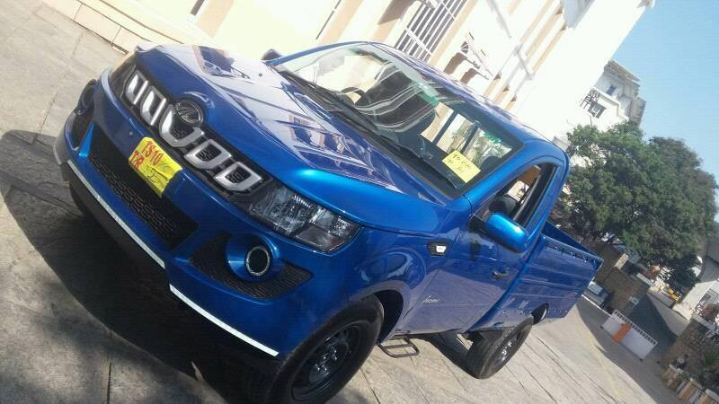 Mahindra Genio facelift spotted without any camouflage