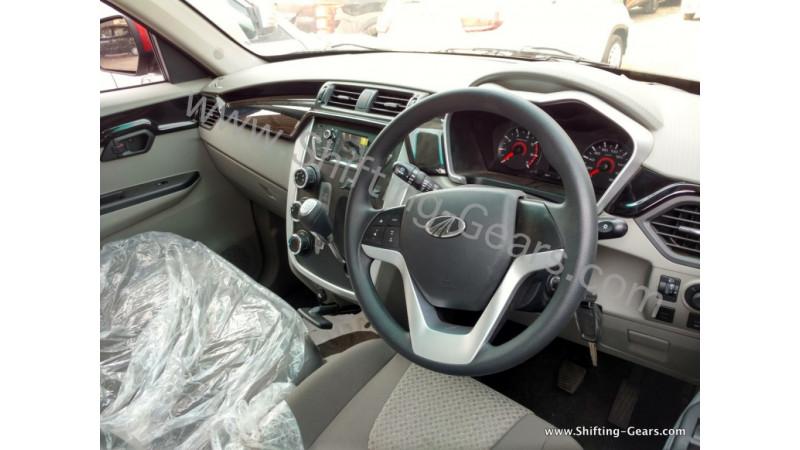 Mahindra KUV100 K4 snapped inside-out