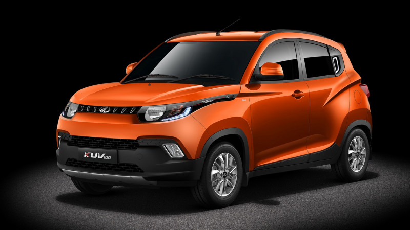 Mahindra KUV100 variants revealed in-detail