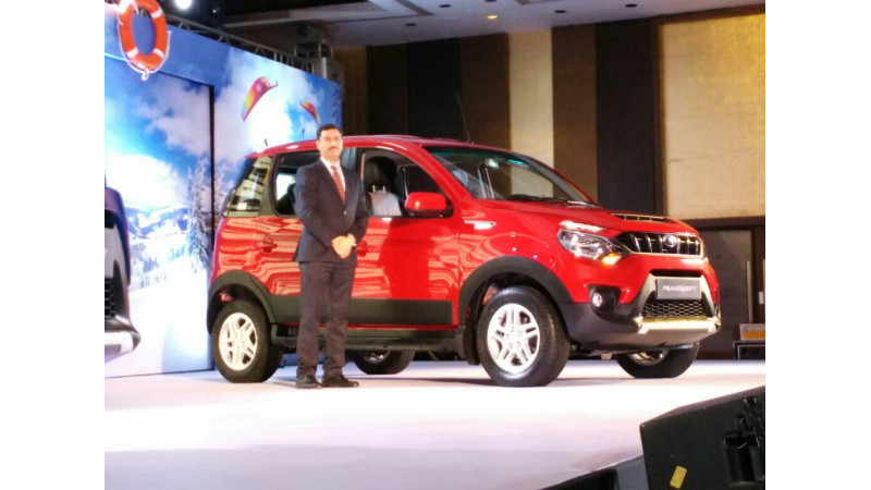 Mahindra NuvoSport launched in India for 7.35 lakh