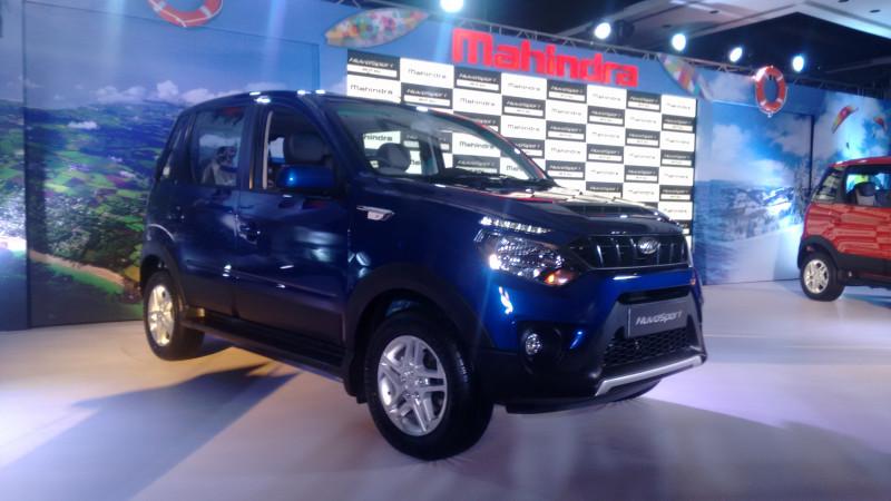 Mahindra NuvoSport indicates at future design for next Xylo