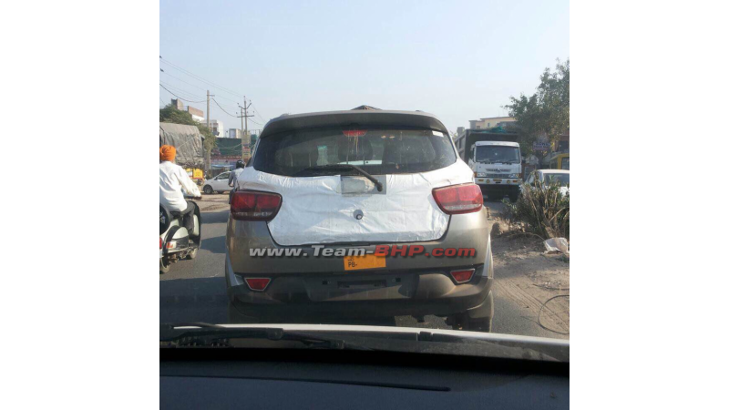 Mahindra S101 test mule spotted