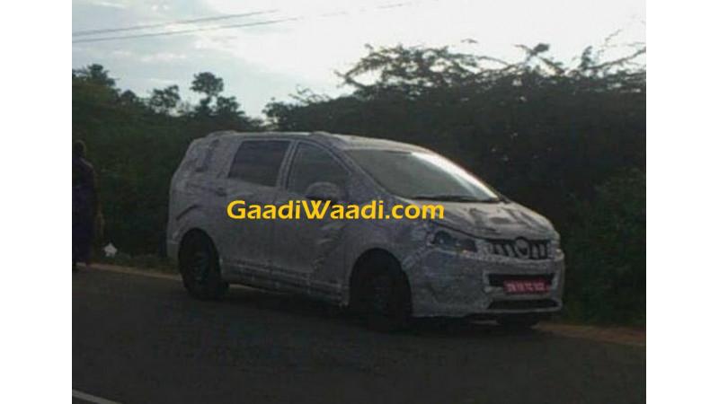 Mahindra 7-seater MPV spotted testing