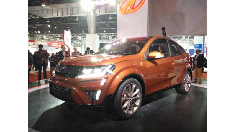 2016 Auto Expo: Mahindra reveals XUV Aero concept