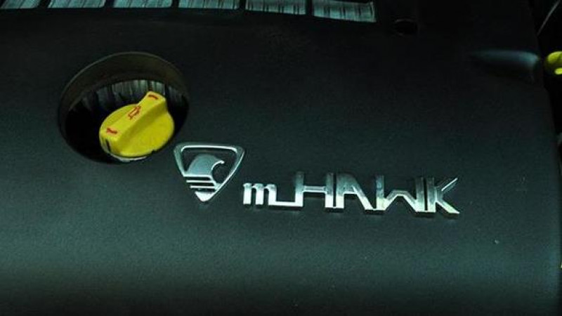 Mahindra debuts the new sub-2000cc mHawk diesel engine