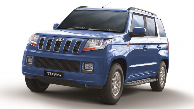 Mahindra updates lower trims of the TUV300 with 100bhp mHawk engine