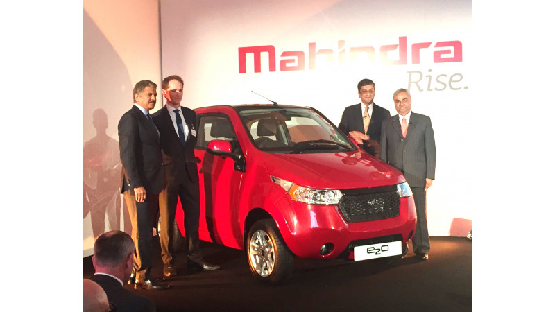 Mahindra launches e2o ElectriCity in the UK