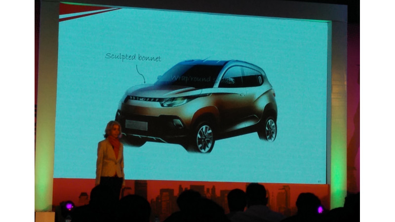 Mahindra names the S101 as KUV100