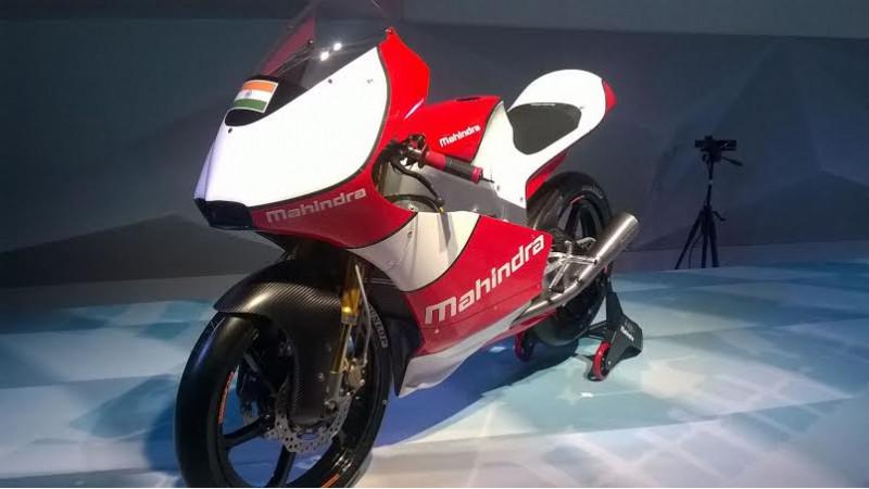 2016 Auto Expo: Mahindra unveils the MGP30 Moto 3 bike