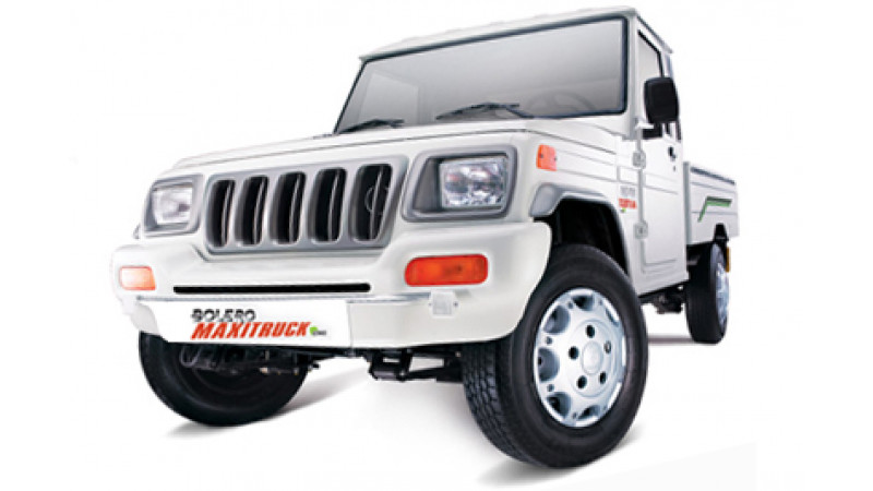 Mahindra Bolero Maxi Truck Plus pick-up launched at Rs  4 33