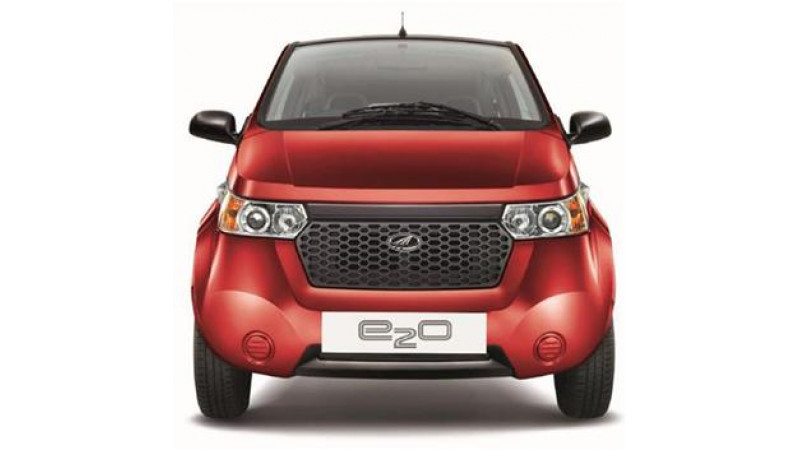 Electrically charged Mahindra Reva E2O to be launched on 18th March