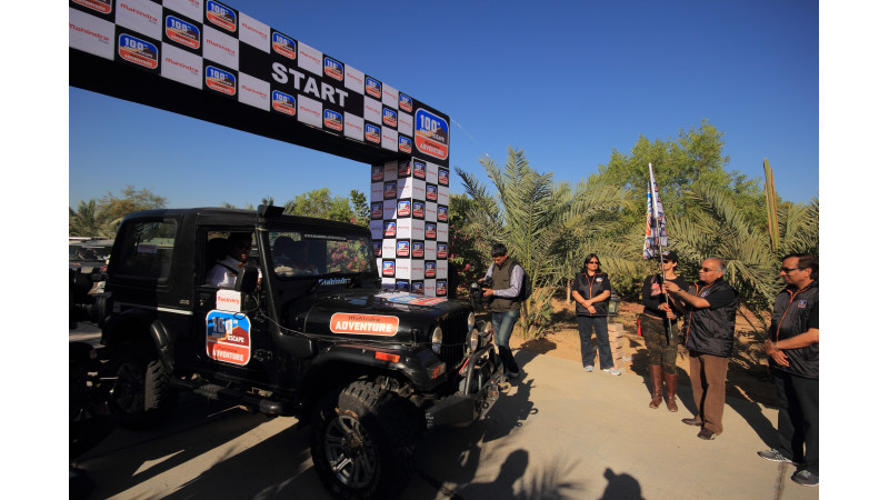 100th edition of the Mahindra Great Escape in Rajasthan