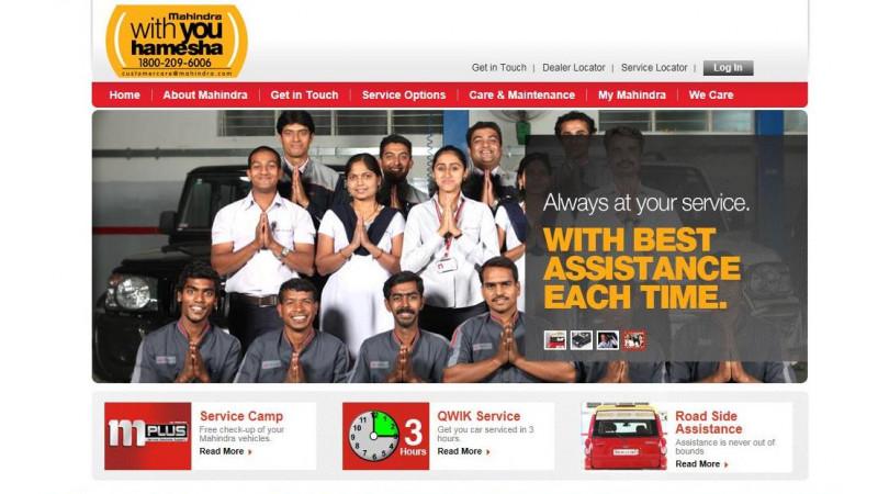 Mahindra launches new customer care website