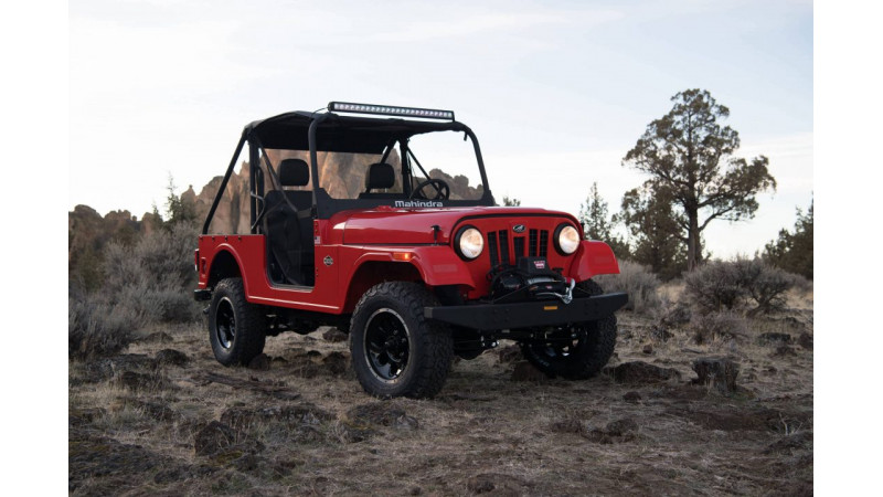 Mahindra Roxor revealed for US market