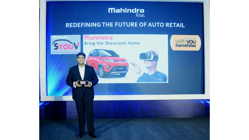 Mahindra Virtual showroom to enhance buying experience