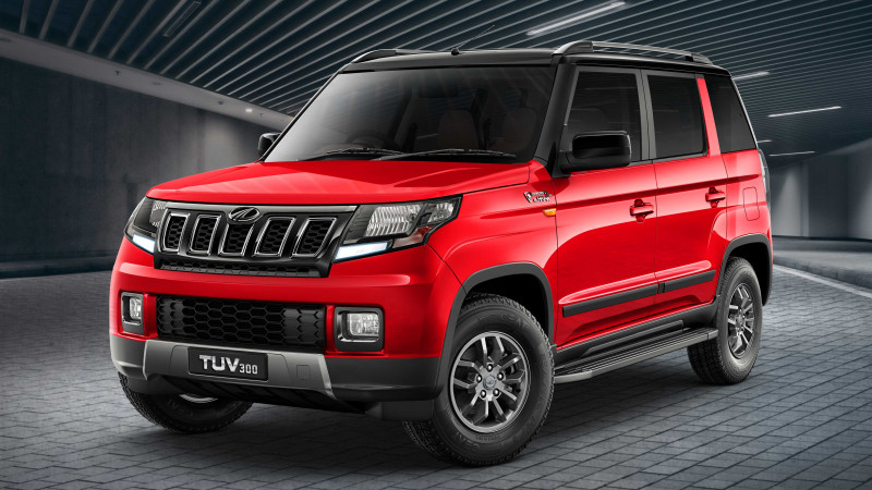 Mahindra TUV300 facelift all details revealed