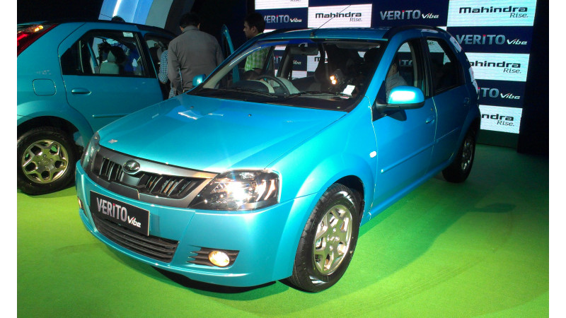 Mahindra Verito Vibe finally launched for Rs. 5.6 lakh