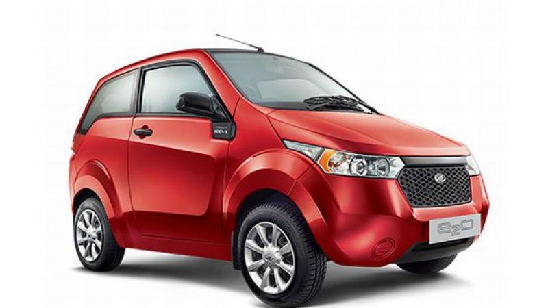 Mahindra e2o launched in India, an electric Mahindra Verito in future?