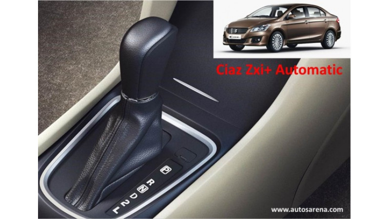 Maruti Ciaz ZXi+ to get wider tyres and automatic transmission