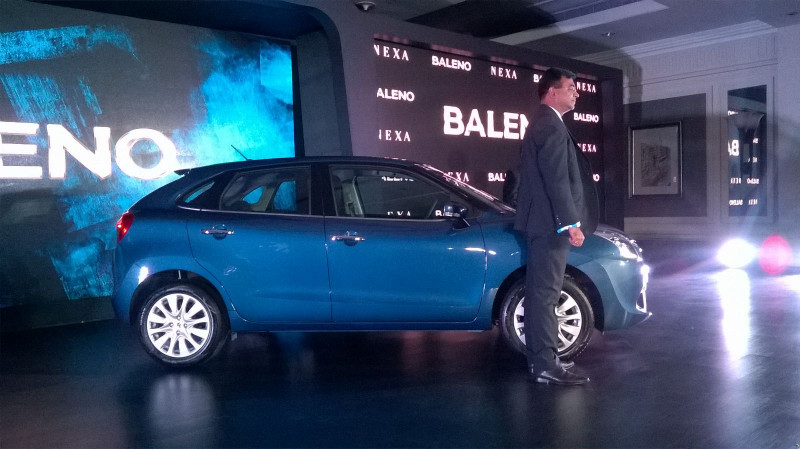 Maruti Baleno launched for Rs 4.99 Lakh