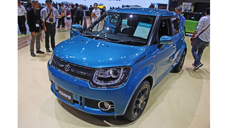 Suzuki Ignis To Have A Unique Design Showcased At The 44th Tokyo Motor Show 2015