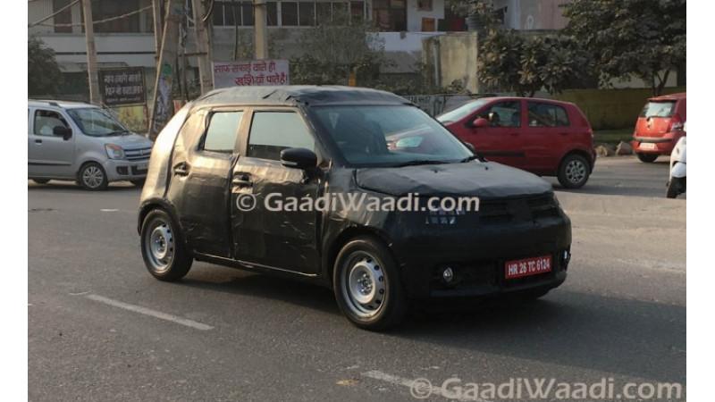 Maruti Suzuki Ignis spotted on test in India