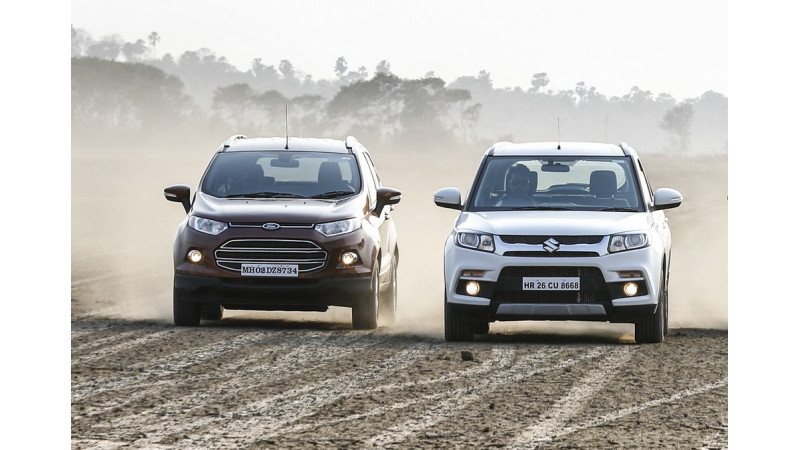 Maruti's Brezza outsells Ford EcoSport by a double margin