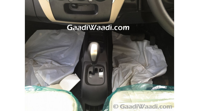 Maruti Suzuki Wagon R AMT spotted at dealership, launch round the corner