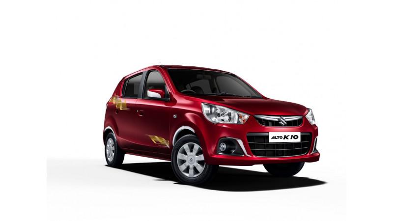 Maruti Suzuki launches Alto K10 Urbano edition