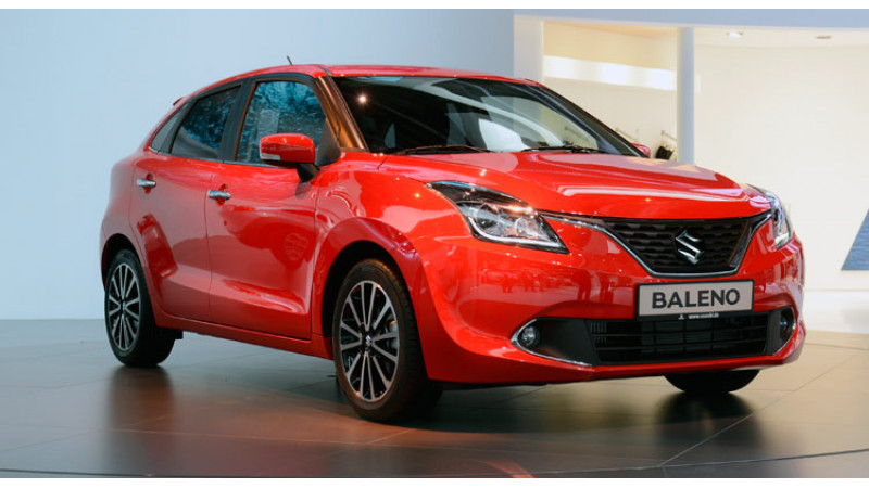 India made Suzuki Baleno launched in Japan