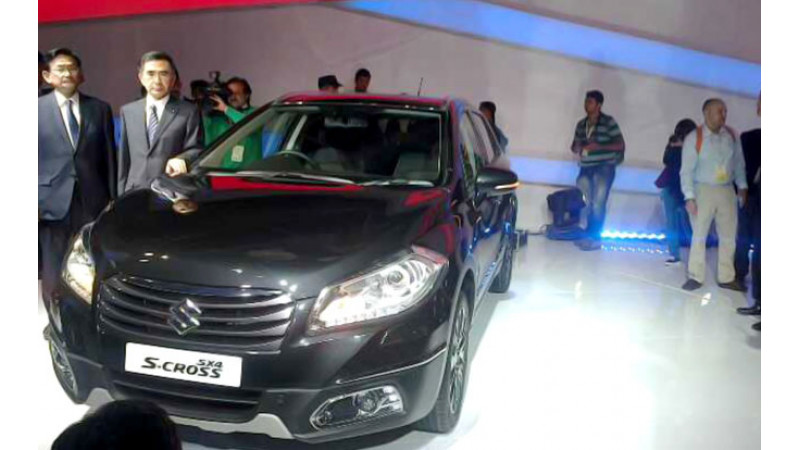 Maruti Suzuki SX4 S-Cross launch likely by end of January, 2015