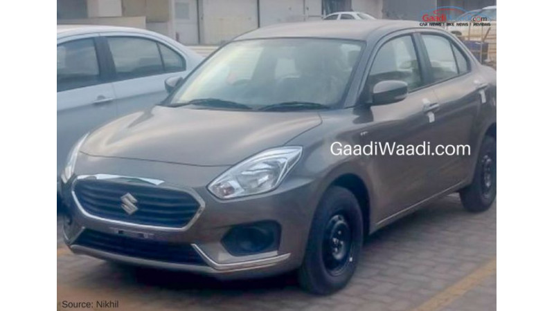 New-gen Maruti Dzire spied unmasked before official revealing