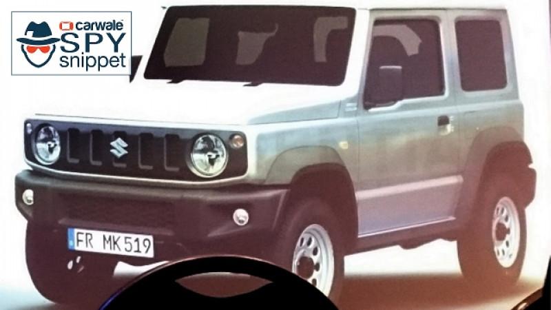 Next-gen Suzuki Jimny prototype spied