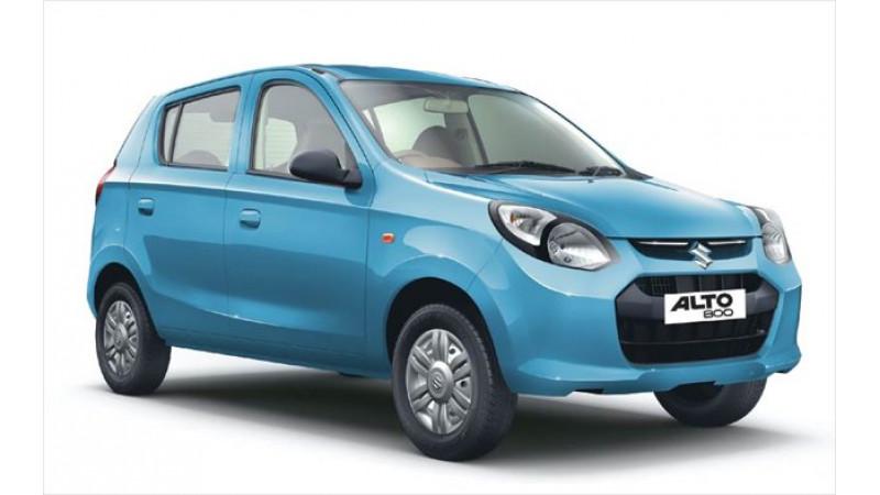 Chilean auto market receives the Maruti Suzuki Alto 800
