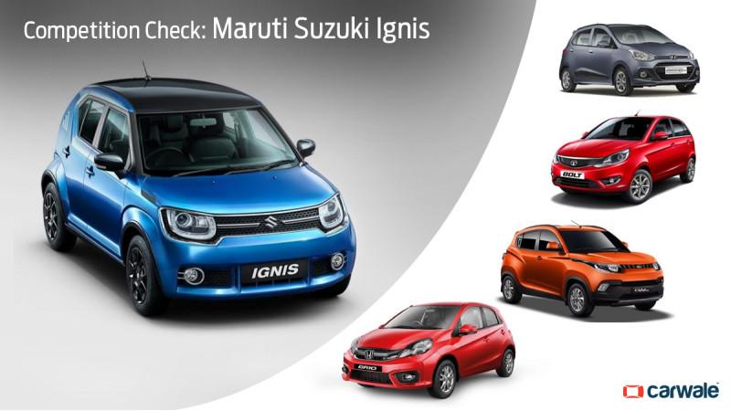 Competition Check: Maruti Suzuki Ignis