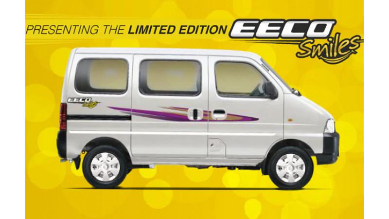 Maruti Suzuki launches limited edition Eeco Smiles