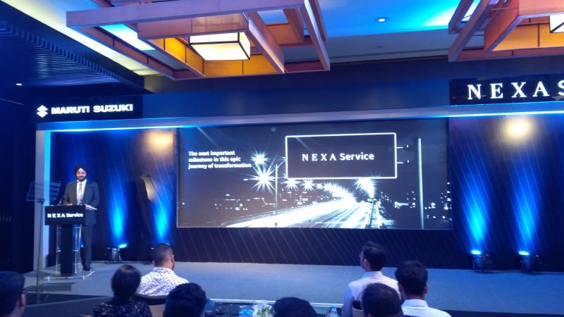 Nexa car service facility introduced