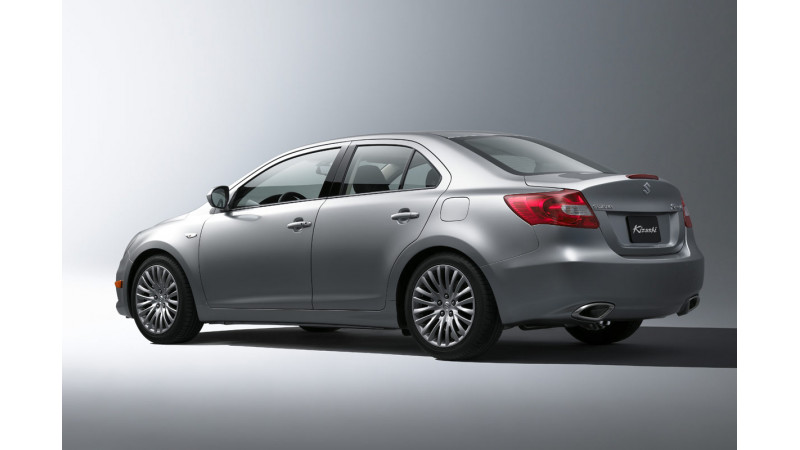 Suzuki Authentics concept: A promising Kizashi replacement