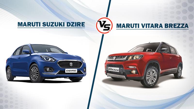 Spec comparo: Maruti Suzuki Dzire Vs Vitara Brezza