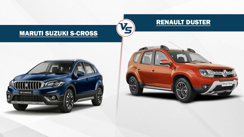 Maruti Suzuki S-Cross Vs Renault Duster - Specifications compared